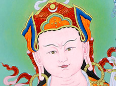 See the detail of Padmasambhava