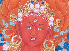 See the detail of Vajrayogini