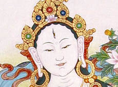 See the detail of White Tara